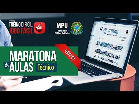 Maratona de Aulas - Técnico MPU | Raciocínio Lógico