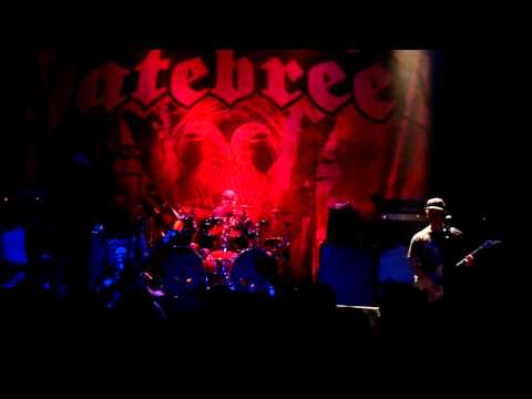 Hatebreed - Under The Knife \ Tear It Down \ Live For This - Toronto - Sept 8 2010