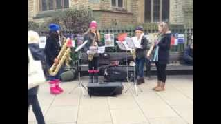 Call Me Maybe (Saxophone Quartet) - Saxual Healing
