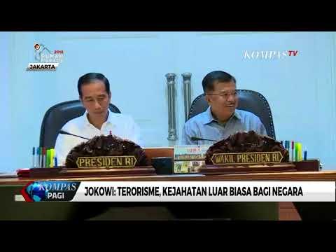 Jokowi: Pemberantasan Terorisme Perlu Cara Luar Biasa