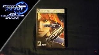 PerfectDark Zero Limited Collector's Edition (Unboxing)