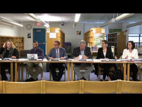 Somerset Berkley Regional School Committee - May 11, 2017