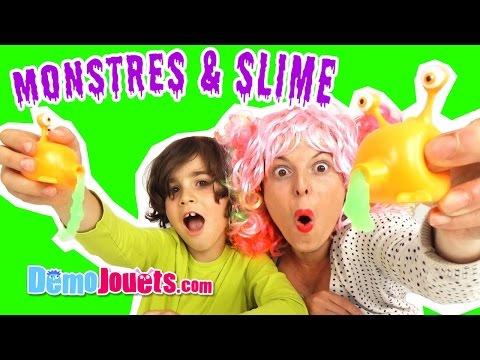 Attention aux Monstres avaleurs de SLIME ! Goo Sucking Monster - Démo Jouets
