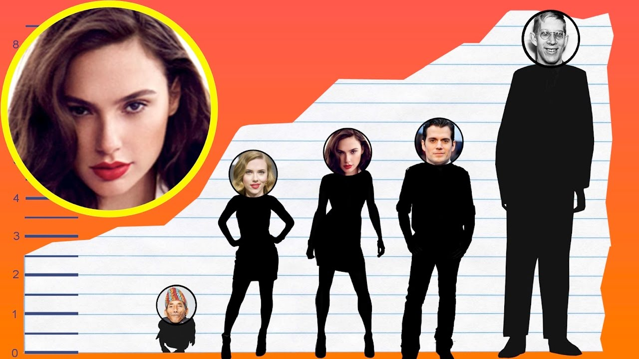 Download How Tall Is Gal Gadot? - Height Comparison!