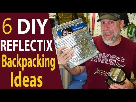 6 DIY Reflectix Backpacking Ideas