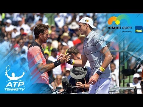 John Isner Top 5 Brilliant Shots vs Del Potro | Miami Open 2018 Semi-Final