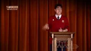 Joshua Iosefo's Inspiring Speech - Brown Brother