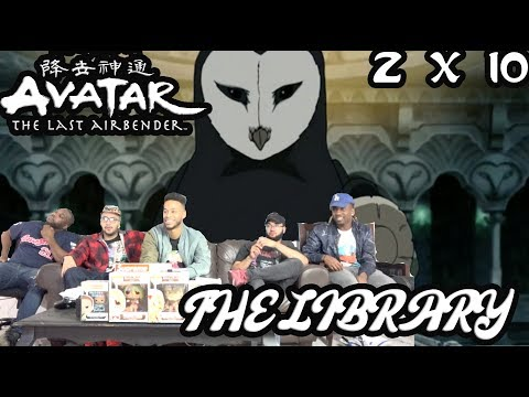 """THEY TOOK OPPA!! Avatar The Last Airbender 2 X 10 """"The Libray"""" Reaction/Review"""