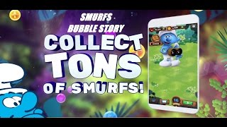 Smurf Bubble Story Game Level 24 | The Lost Smurfs Disney Village Game