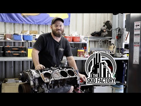 GM HOLDEN 304 V8 ENGINE RE-BUILD [EP1]
