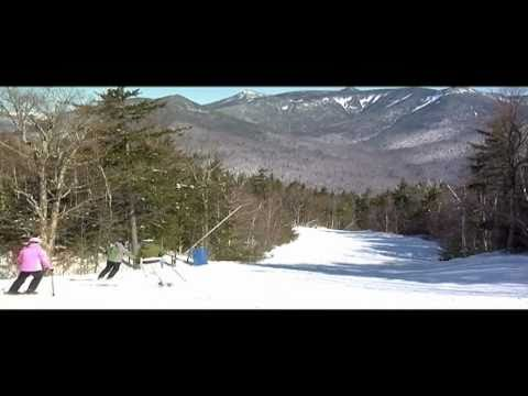 Skiing New Hampshire, USA