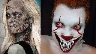 EXTREME Halloween Makeup Tutorial # 1