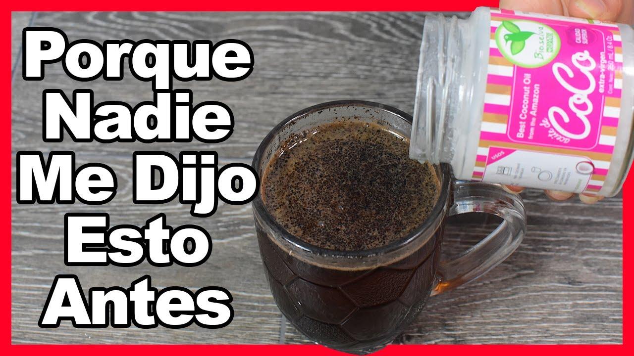 Toma Café con Aceite de Coco y me darás las Gracias!