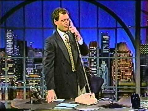 Vintage Letterman - Dave Quizzes an L.L.Bean Operator