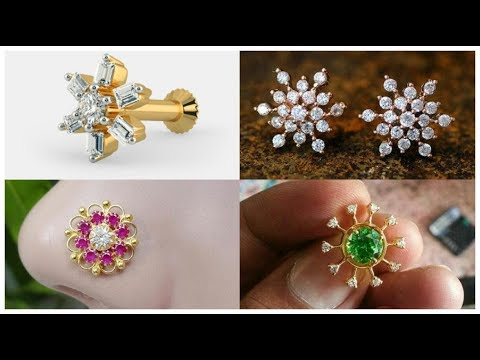 Stylish Gold Nose Pin Designs Latest Nose Ring Designs Gold