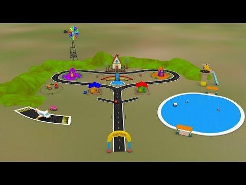 Toy Factory Cartoon Videos - Train Cartoon - Trains For Children - Choo Train Cartoon