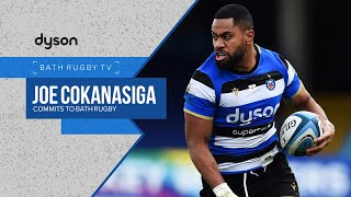 Joe Cokanasiga commits to Bath Rugby