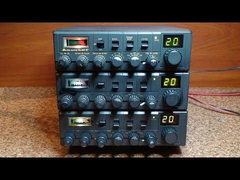 CB Radio bez tajemnic - Alan 87 - Repair & Tuning