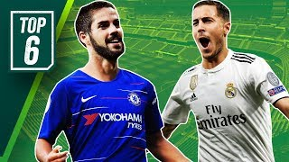 Eden Hazard leaving Chelsea? Here are 6 replacements! ft. Isco, Sancho + Pulisic!