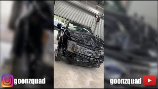 The work on the Ford F-450 beginns 👌 Goonzquad story from 02.12.2019