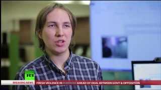 realSpeaker on Russia Today TV program