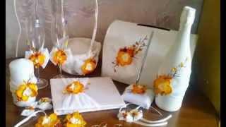 видео Свадебный handmade