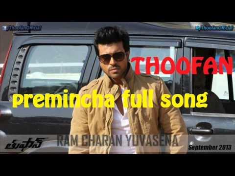 thoofan premincha song