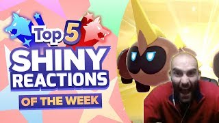 TOP 5 SHINY REACTIONS OF THE WEEK! Pokemon Sword and Shield Shiny Montage! Episode 10