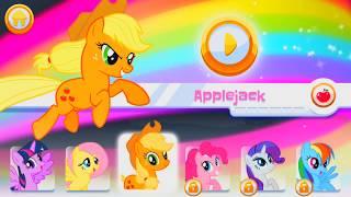 Мультик игра: май литл пони My little pony радужные гонки, обзор игры!