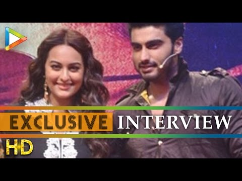 Arjun Kapoor - Sonakshi Sinha's FUN Exclusive On Tevar|Break Silence On Link-up Stories