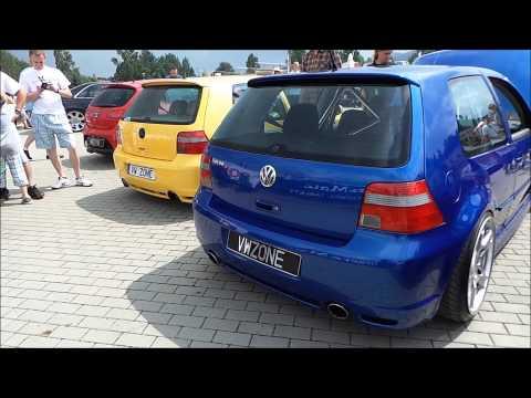 VW Golf R36 R32 Exhaust Sounds HD