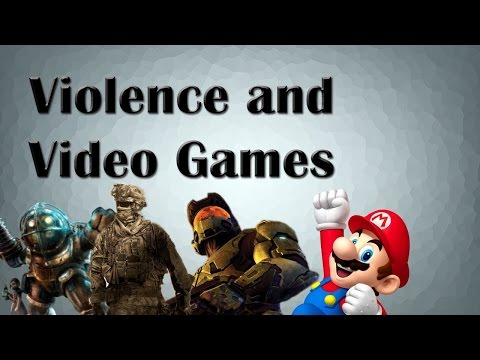 does video games cause violent behaviour