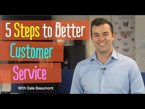 5 Steps To Better Customer Service