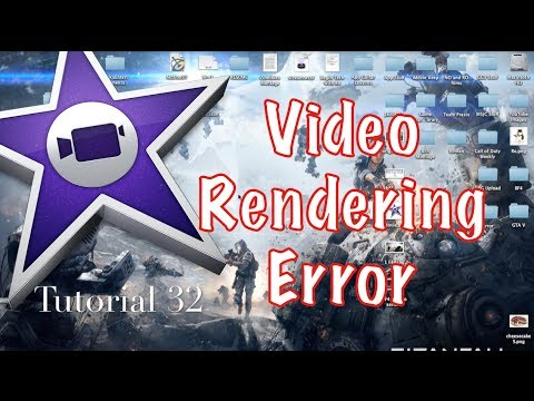 Video Rendering Error 50 in iMovie 10.0.2 | Tutorial 32