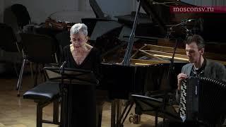 Алексей Сюмак. Ария для сопрано и аккордеона (2014). Фрагмент