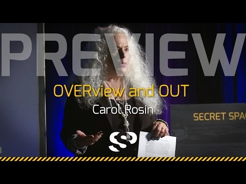 Carol Rosin At The Secret Space Program Conference,  2014 San Mateo (promovideo)