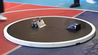 Japan beat UK in robot war. Trust me, you'll watch this again.