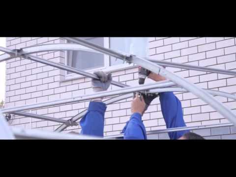 Видео по сборке и установке теплицы Апельсин PRO