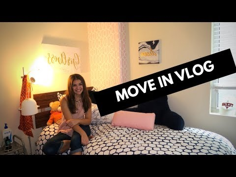MOVE IN DAY | UT AUSTIN | Callaway House