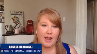 Rachel Rekowski - 2020 Michael Weiner Scholarship Recipient