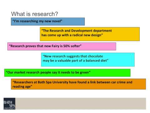 Nature of Research ED7003 Module 1