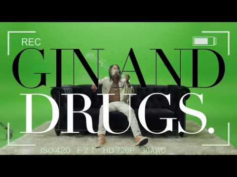 Wiz Khalifa - Gin & Drugs feat. Problem [Official Music Video]