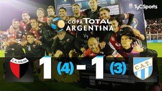 Copa Argentina: Colón - Atlético Tucumán (RESUMEN Y PENALES)