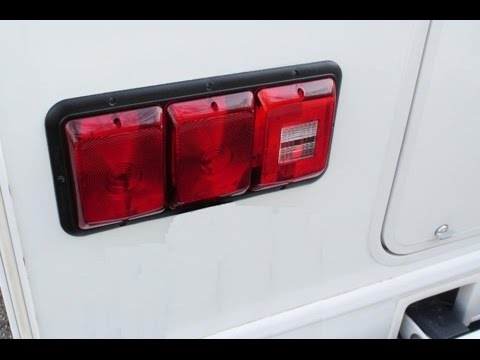 replacing the leaking tail lights on my motorhome replacing the leaking tail lights on my motorhome