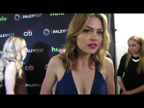 Paley Fall P 2016: Notorious Aimee Teegarden Teases Ella's Climb to the Top