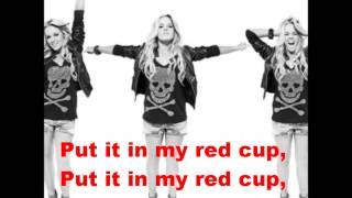 Katy Tiz - Red Cup Lyrics