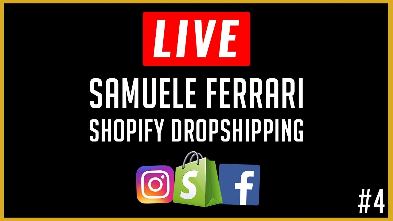 Dropshipping Q&A, Store Reviews e Ecomm Keys #4 - Samuele Ferrari