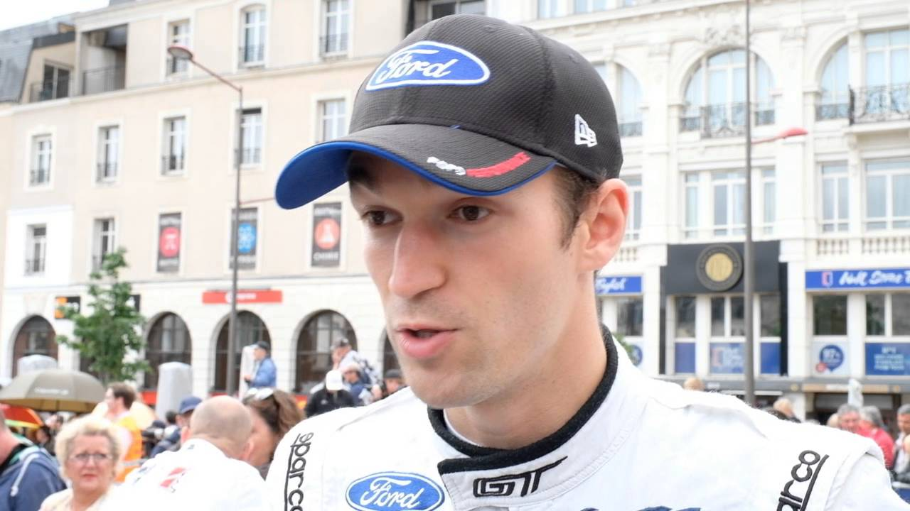 Interview With Ford Gt Harry Tincknell At  Hours Of Le Mans Pesage Youtube
