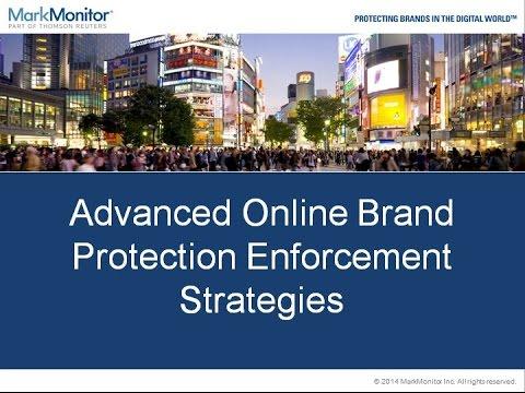 Advanced Online Brand Protection Enforcement Strategies Webinar