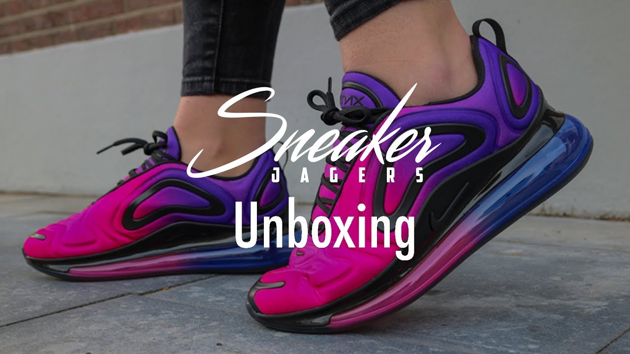Unboxing: Air Max 720 'Sunset'